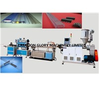 High Efficiency PVC Electronis Package Tube Plastic Extrusion Machine