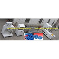 High Quality PVC Twisted Reinforced Pipe Plastic Extruder Machine