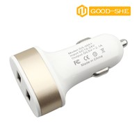 Hot sale Newest Design High speed cell USB phone car charger 5V 2.1A, car phone charger Wholesale