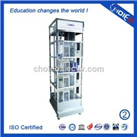 PLC Controlled Transparent Four-layer Elevator Trainer,PLC Lift Simulator Trainer Model,