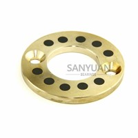 Bronze Guide Bushing Friction Bearing Machined Forging Brass Wear Plate