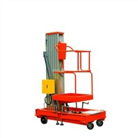 Sale Aluminum telescopic manual used manlifts