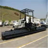 Black Road Construction Machinery with Rubber Tracks