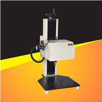 Pnematic bechtop dot peen marking machine