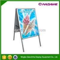 aluminum board advertising A1A2 poster stand