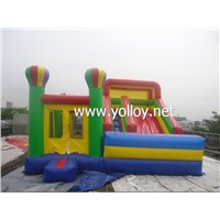 Giant Inflatable Bouncer Slide Combo, Inflatable Funny City