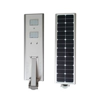 All In One LED Solar Street Light 30W , Solar Panel Street Lights IP65