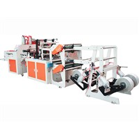 Plastic bags making machine