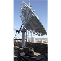 4.5m full-motion receiving only antenna