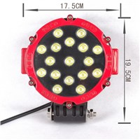 5 Inch 51W Forklift Work Light for UTV off Road Use