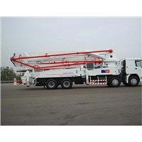 Export HOWO Concrete Pump Truck to Sudan