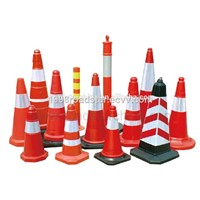 High visibility traffic safety cone sleeve