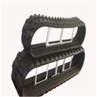 Concrete Paver Rubber Tracks for Trucks