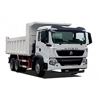 2016 New Type HOWO T5G Dump Truck to the Middle East