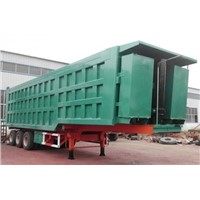 Sales Three Axle Dumping Semi-trailer in Central Africa