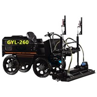 concrete laser screed/ laser leveling machine