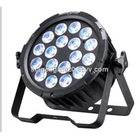 2016 New 18x15w RGBAW 5 in 1 Aluminum Housing High Power LED Par64 Light