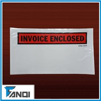 5.5*10 inch Poly Material packing list enclosed envelopes