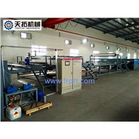 FRP gel coat flat sheet making machine
