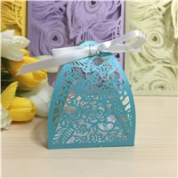 Party Decoration Candy Box Paper Wedding Favors Chocolate Sweet Day Gift Box Casamento Centerpiece