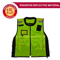 Reflective Vest with High Visibility, Safety, Day and Night for Running, Cycling, Walking