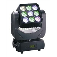 Matrix 9x12W RGBW 4 in 1 Beam Wash Moving Head American DJ Light