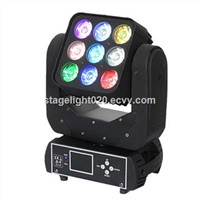 Mini Party Effect 3x3x9 Quad Color Wash Beam Moving Head DMX Matrix Light