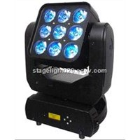 Matrix 3x3 Beam Moving Head 9pcs LED Effect Light Cheap Price