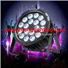Aluminum 18x15W RGBAW UV DMX LED Par Light,6 in 1 LED Flat Panel,Flat Party Light