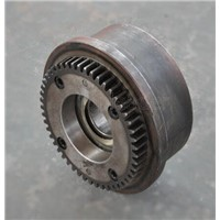 300mm cast and forged crane wheel assembiles for industry apply