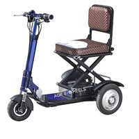 350W Folding Lithium Battery Electric Bike for Elder People