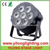 6 IN 1 RGBAW UV LED Cast-Aluminum Par