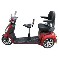 500W/800W Motor Mobility Scooter with Seat Belt for Old People
