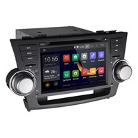 8 Inch Android Car DVD GPS for Toyota Highlander
