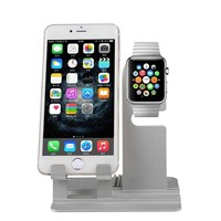 Hot Selling iPhone Holder Apple Watch Stand 2 in 1 Charging Dock Station Holder (FWA006)