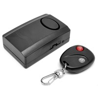 Wireless Remote Control Vibration Detector Alarm Security Bike Alarm System