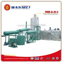 China Famous Used Oil Recycling System with Vacuum Distillation Process