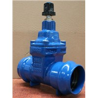 Socket end Resilient gate valve for PVC pipe