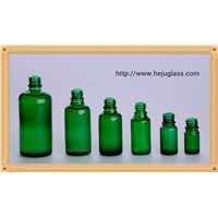 100ml green glass bottle for essential oil