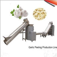 Garlic Clove Breaking Peeling Machine Line
