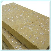 Non Flamable Insulation Rock Wool Acoustic Panels