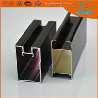 cheap type of aluminium profile to make doors and windows
