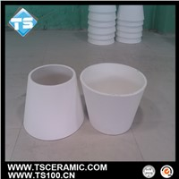 cone shape aluminum lining tube for wear-resistant