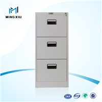 China mingxiu industrial metal storage cabinets / 3 drawer file cabinet