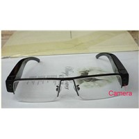 Delicate design 1080P  lithium battery  half frame glasses