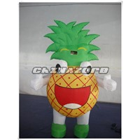 Good Design Inflatable Pineapple Moving Cartoon With Vivid Aspect