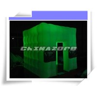 Led Lighting Changeable Color Cubic Inflatable Photo Booth