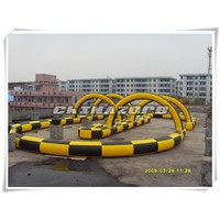 New Arrival Inflatable Car Race Track Inflatable Circuit Price
