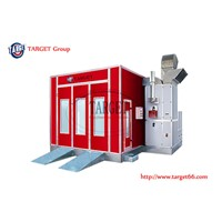 Diesel or Gas Heated Automotive Car Spray Booth Paint Booth