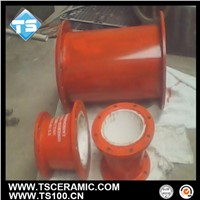 alumina ceramic lining tube for wear resistant